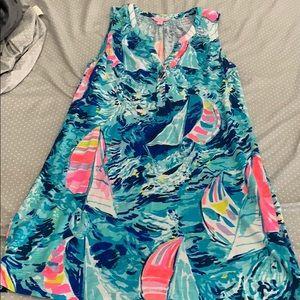 Lilly Pulitzer sailboat dress